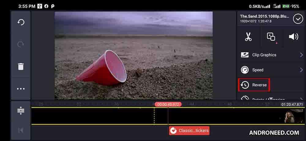 KineMaster Pro Apk Reverse Videos