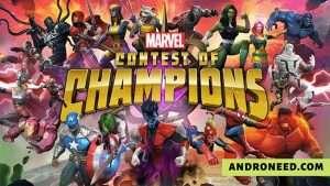 MARVEL Contest Of Champions Mod Apk Unlimited Units [Hack] 2020